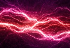 Electrical background Stock Image