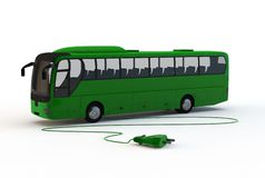 Electrical bus Royalty Free Stock Photo