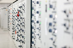 Electrical cabinet Royalty Free Stock Photo