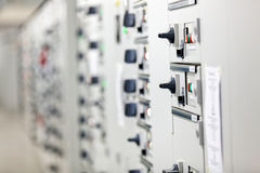 Electrical cabinet Stock Photo