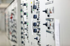 Electrical cabinet Stock Image