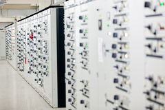 Electrical cabinet Stock Photography