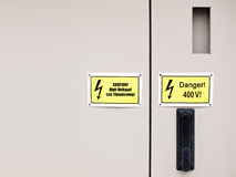Electrical cabinet Royalty Free Stock Photography