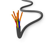 Electrical cable Stock Images