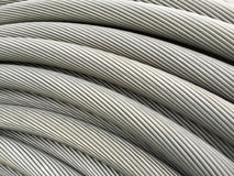 Electrical cable background Stock Image