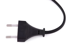 Electrical cable (Clipping path) Stock Photo
