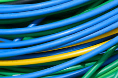 Electrical cable Stock Image
