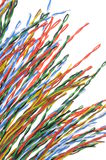 Electrical cables Royalty Free Stock Image