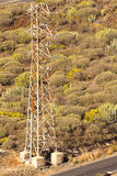 Electrical capacity mast Stock Photography