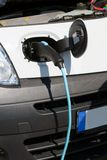 Electrical Car Charging Royalty Free Stock Photos