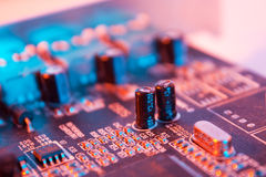 Electrical circuit Royalty Free Stock Photography