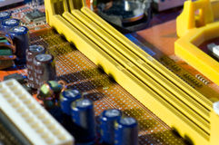 Electrical circuit Stock Image
