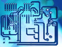 Electrical circuit Stock Images