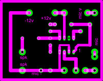 Electrical circuit. A close up of Electrical circuit Royalty Free Illustration