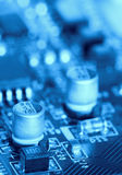 Electrical circuit Royalty Free Stock Photos
