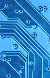 Electrical circuit. A close up of Electrical circuit Royalty Free Stock Photos