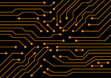 Electrical circuit . eps 10 vector illustration Royalty Free Stock Photo