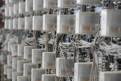 Electrical circuitry Royalty Free Stock Images