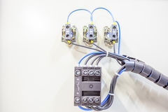 An electrical circuits Royalty Free Stock Photo