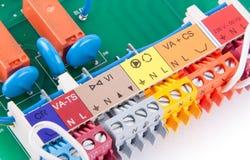 Electrical clamps Stock Photos