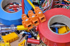 Free Electrical Component Kit Royalty Free Stock Photos - 35161078