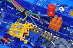Electrical component kit Royalty Free Stock Photography