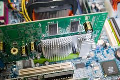 Electrical components Royalty Free Stock Image