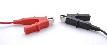 Electrical connectors Royalty Free Stock Images