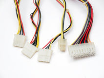 Electrical connectors Royalty Free Stock Image