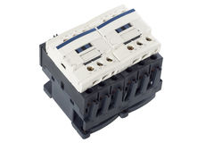 Electrical contactor Stock Image