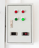 Electrical control box Stock Photos
