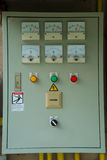 Electrical control cabinet Royalty Free Stock Image