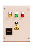 Electrical control cabinet Stock Images