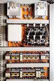 Electrical control panel Royalty Free Stock Images