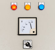 Electrical control panel Stock Images