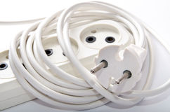 Electrical cord Royalty Free Stock Photo