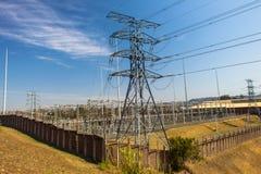 Electrical Destribution Station Stock Photo