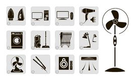Electrical devices Royalty Free Stock Photo