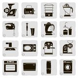 Electrical devices in the kitchen Stock Images