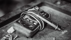 Electrical Digital Multimeter Indicator Device royalty free stock images