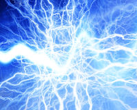 Electrical discharge Royalty Free Stock Image