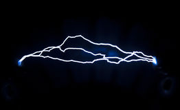 Electrical discharge Stock Photo
