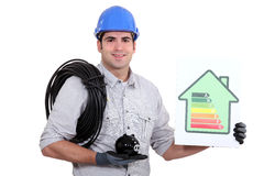 Electrical efficiency Stock Photo