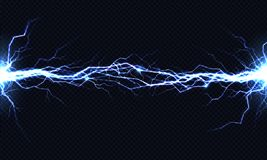 Free Electrical Energy Discharge 3d Vector Light Effect Stock Image - 132116191