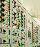 Electrical energy substation Stock Image
