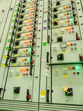 Electrical energy substation power plant Royalty Free Stock Image