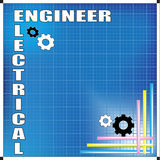 Electrical Engineer background Royalty Free Stock Images
