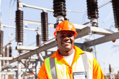 Electrical engineer portrait stock images