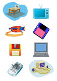 Electrical Equipment Illustration in Vector Royalty Free Stock Images
