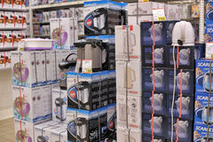 Electrical equipment shop Royalty Free Stock Image